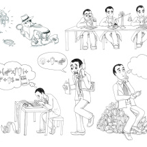 Berater Illustrationen