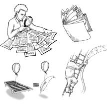 Illustrationen für OHOI
