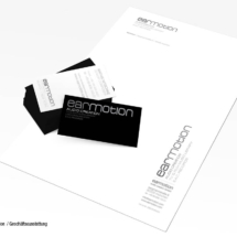 Geschäftsausstattung Earmotion