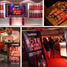 Die Rote Nacht der Bars für Campari - Eindrücke vom Event
