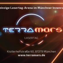Terramars Lasertag München Logo