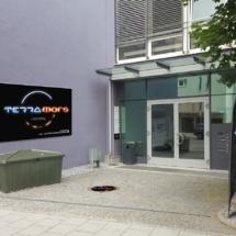 Terramars Lasertag Eingang