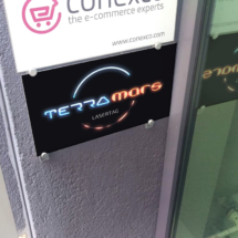 Terramars Lasertag Firmenschild