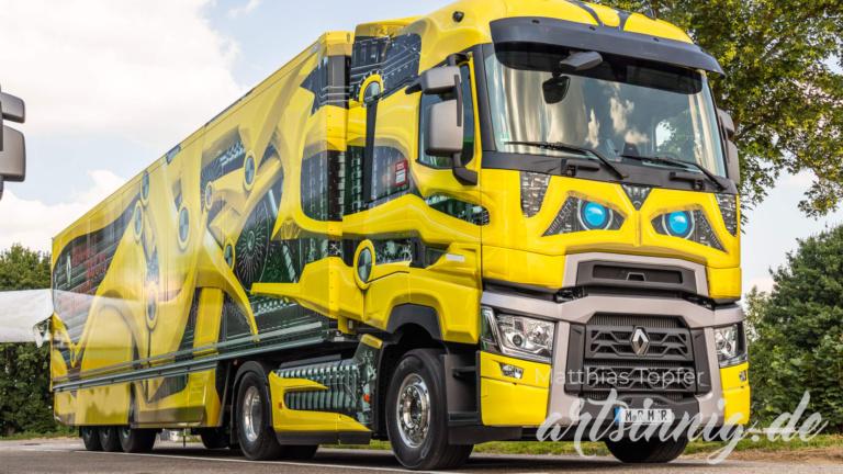 3D Design Renault Trucks gelb