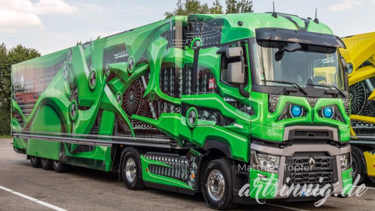 3D Design Renault Trucks grün
