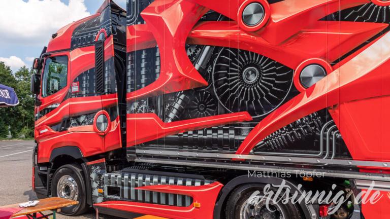 3D Design Renault Trucks rot
