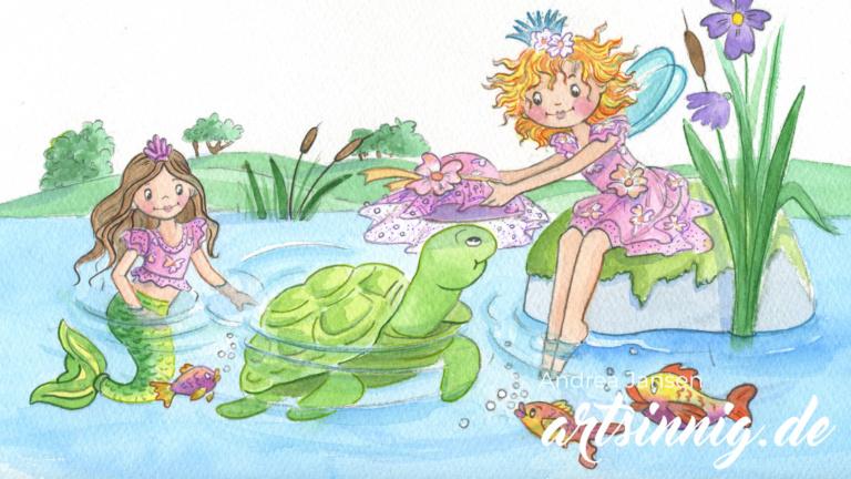Andrea Jansen zeichnet Prinzessin Lillifee
