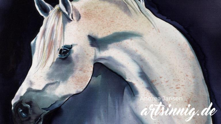 Andrea Jansen Malerei auf Stoff
