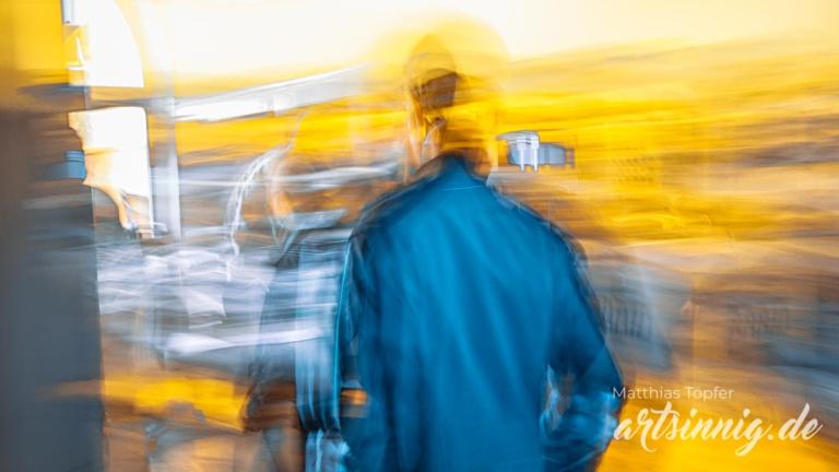 Fotografischer Impressionismus Menschen Business